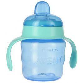 Philips Avent Чашка-поильник Comfort от 6 месяцев цвет синий мятный 200 мл SCF551/00