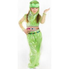 Карнавалия Карнавальный костюм для девочки Шахерезада цвет салатовый размер 134