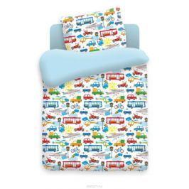 Непоседа Комплект белья для новорожденных Городское движение цвет голубой 4622 вид 1
