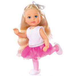 Simba Мини-кукла Еви-балерина цвет майки белый