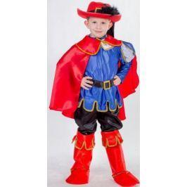 Карнавалия Карнавальный костюм для мальчика Кот в сапогах размер 110