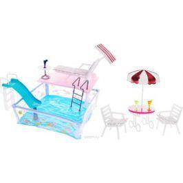 Gloria Мебель для кукол Отдых у бассейна