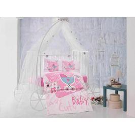 Clasy Комплект детского постельного белья Lovely Baby 4 предмета