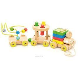 Игрушки из дерева Развивающая игрушка Паровозик Чух-чух