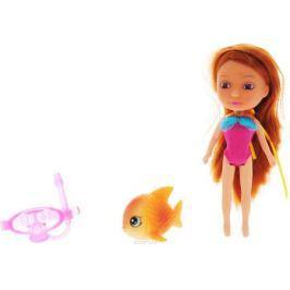 Veld-Co Мини-кукла Mona с рыбой