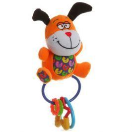 Bondibon Мягкая игрушка-погремушка-пищалка Собака