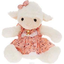 Magic Bear Toys Мягкая игрушка Овечка девочка цвет розовый 23 см