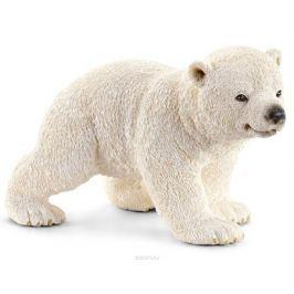 Schleich Фигурка Белый медвежонок