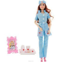 Veld-Co Игровой набор с куклой Детский доктор цвет голубой