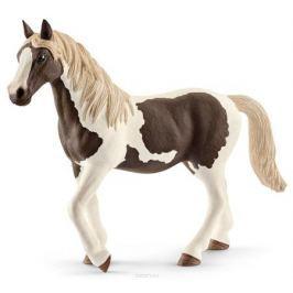 Schleich Фигурка Кобыла Пинто цвет молочный коричневый