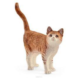 Schleich Фигурка Кошка цвет светло-коричневый белый
