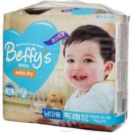 Beffis Подгузники для мальчиков Extra Dry XL 13+ кг 32 шт