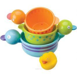 Alex Набор игрушек для ванной Чашки-уточки 3 шт