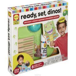 Alex Набор для изготовления игрушек Динозавры