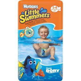 Huggies Трусики-подгузники для плавания Little Swimmers 5-6 (12-18 кг) 11 шт