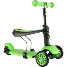 YVolution Самокат-беговел детский Glider 3 в 1 цвет зеленый