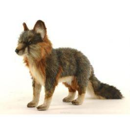 Hansa Мягкая игрушка Лисица цвет серый 40 см