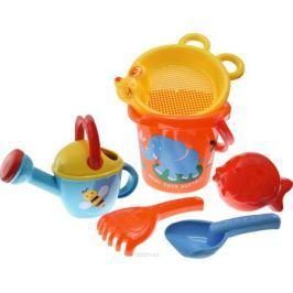 Gowi Набор игрушек для песочницы Слоненок 6 предметов
