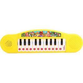 Умка Развивающая игрушка Пианино с потешками цвет желтый