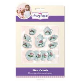 Mary Poppins Кукольный сервиз Роза 13 предметов Сюжетно-ролевые игрушки