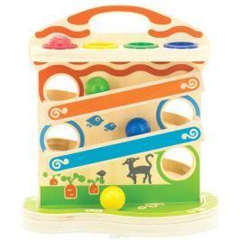Мир деревянных игрушек Развивающая игрушка Горка-шарики
