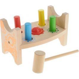 Мир деревянных игрушек Развивающая игрушка Стучалка Шарик и гвоздики