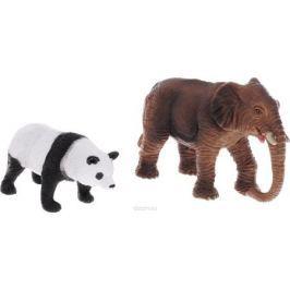 National Geographic Набор фигурок Слон и панда
