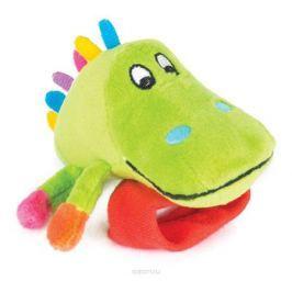 Happy Snail Игрушка-погремушка на руку Крокодил Кроко