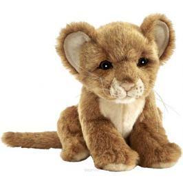Hansa Мягкая игрушка Львенок цвет коричневый 17 см