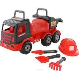 Полесье Автомобиль-каталка Mammoet 200-02 с набором игрушек для песочницы