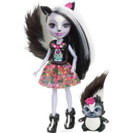 Enchantimals Игровой набор с куклой Sage Scunk