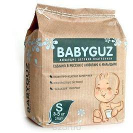 BabyGuz Подгузники S 3-5 кг 20 шт