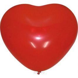 Шарик воздушный Сердце цвет вишневый 50 шт