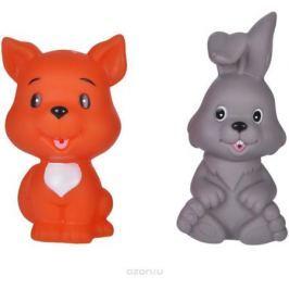 Жирафики Набор игрушек для ванной Лисенок и зайчонок