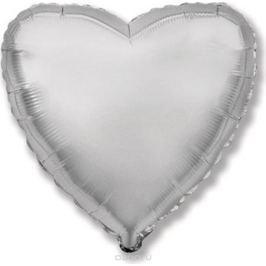Флексметал Шарик воздушный Сердце цвет серебро