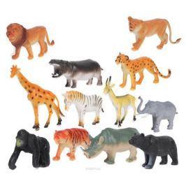 Играем вместе Набор фигурок Дикие животные 10 см 12 шт