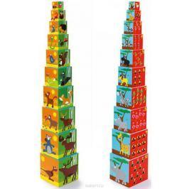 Scratch Кубики Stacking Tower Животные