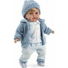 Arias Кукла Elegance с соской цвет одежды голубой