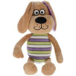 Button Blue Мягкая игрушка Собачка Интеллигент цвет костюма салатовый сиреневый белый 25 см