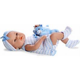Arias Пупс Elegance с игрушкой цвет одежды голубой Т11096