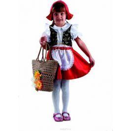 Батик Карнавальный костюм для девочки Красная шапочка цвет красный белый черный размер 28