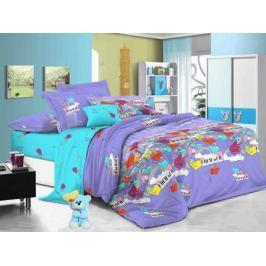 Cleo Комплект детского постельного белья Мелодия 1,5 спальный цвет сиреневый