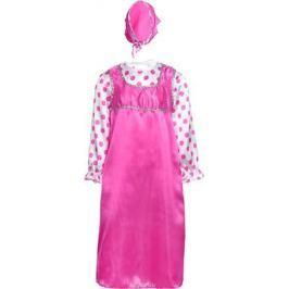 Карнавалия Карнавальный костюм для девочки Аленушка цвет малиновый размер 122