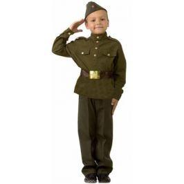 Батик Карнавальный костюм для мальчика Солдат размер 32