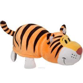 1TOYМягкая игрушкаВывернушка 2в1 Тигр-Слон 35 см