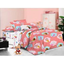 Cleo Комплект детского постельного белья Сладкий сон 1,5 спальный цвет розовый