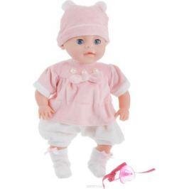 Lisa Jane Пупс озвученный цвет розовый белый 35 см
