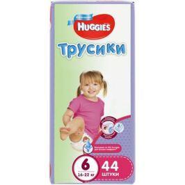 Huggies Подгузники-трусики для девочек 16-22 кг (размер 6) 44 шт