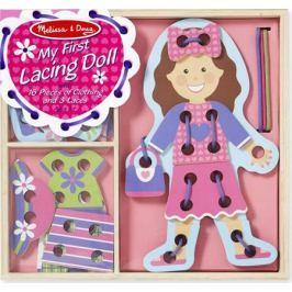 Melissa & Doug Игра-шнуровка Моя первая шнуровка Кукла