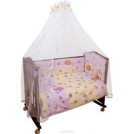 Сонный гномик Комплект белья для новорожденных Мишкин сон цвет розовый 6 предметов